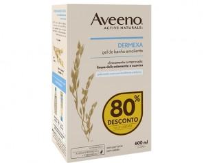 Aveeno Dermexa Gel Banh Emol300 Duo -80%
