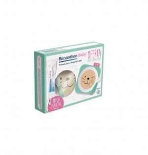 Bepanthene Bepanthen Baby Duo Pomada muda fralda 2 x 100 g com Oferta de Prato de sopa + Colher