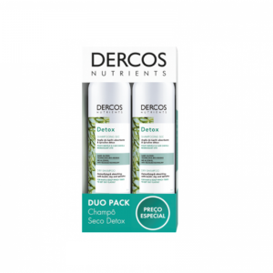 Vichy Dercos Nutrients Detox Duo Champô seco 2 x 150 ml com Preço especial