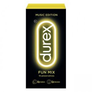 Durex Music Edit Fun Mix Preserv X10