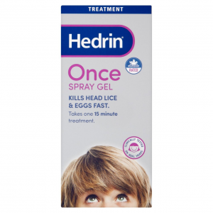 Hedrin Once Spray Gel 100Ml