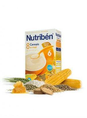 Nutriben Farinhas 8 Cereais Mel Bol M 300g