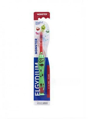 Elgydium Infantil Esc Dent Kids Monster2-6a