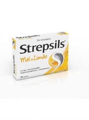 Strepsils Mel e limão