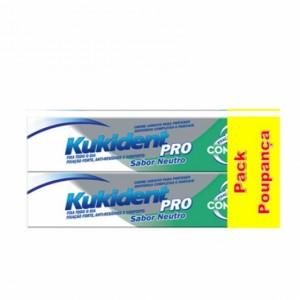 Kukident PRO Complete Duo Creme de próteses dentárias 2 x 47 g com Preço especial