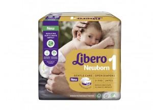Libero Newborn 1 Fralda 2-5Kg X24