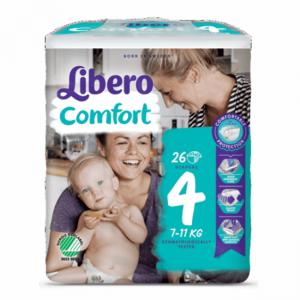 Libero Comfort 4 Frald 7-11kg X26
