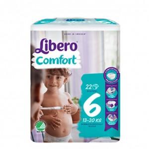 Libero Comfort 6 Frald 13-20kg X22