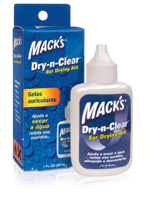 Macks Dry N Clear Gts Limp Agua Ouvidos