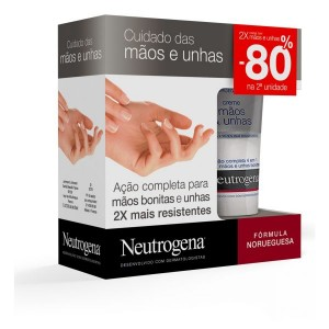Neutrogena Duo Creme mãos e unhas 2 x 75 ml com Desconto de 80% na 2ª Unidade(s)