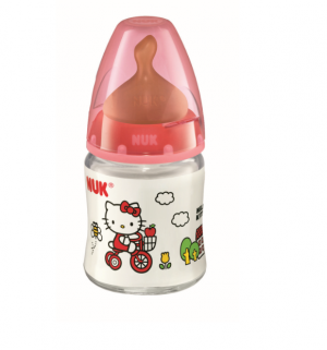 Nuk Bib Fc Silic Leite Hello Kitty 150 Ml