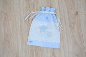 Mime Saco plastificado no interior azul
