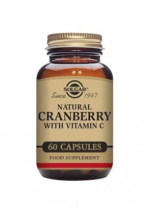 Cranberry Solgar Caps X 60