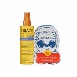 Uriage Bariésun Spray infantil SPF50+ 200 ml com Oferta de Toalha