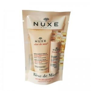 Nuxe Reve de Miel Stick labial + Creme Maos
