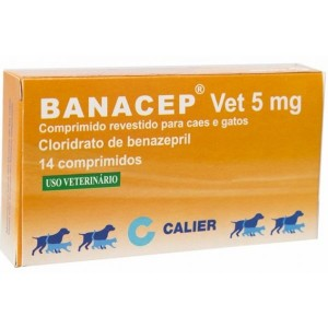 Banacep Vet Comp Rev Caes 5 Mg X 14