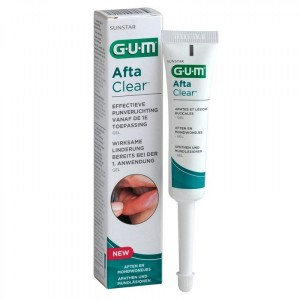 Gum Afta Clear Gel 10ml