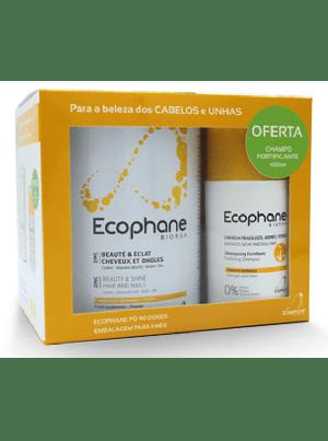 BiorgaDermatologie Ecophane Pó 90 Dose(s) com Oferta de Champô fortificante 200 ml