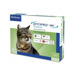 Effipro Duo Gato 50mg/60mg 4 Pip