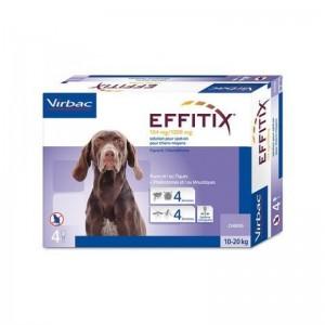 Effitix134/1200mg Pip Caes 10-20kg X4