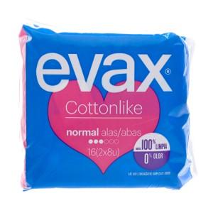 Evax Odorfresh Penso Normal Alas X 16