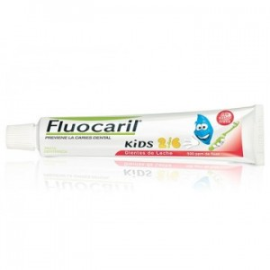 Fluocaril Kids 2/ Gel Dent Morango 50 Ml