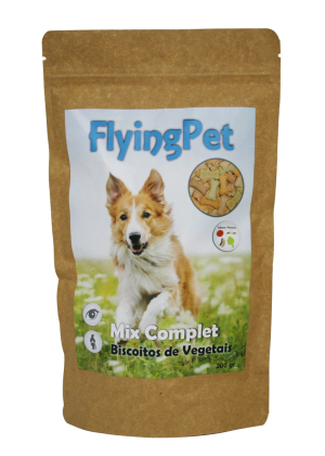 FlyingPet Mix Complet biscoitos vegetais 200g
