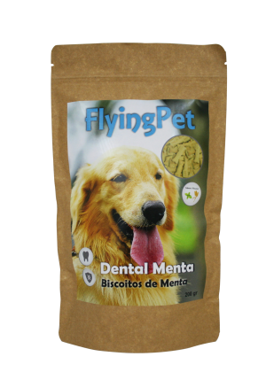 FlyingPet Dental Mint biscoitos menta 200g