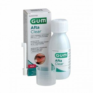 Gum Afta Clear Colutorio 120ml