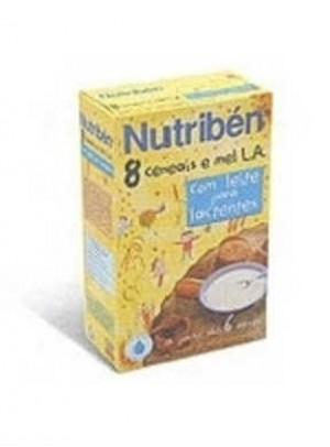 Nutriben Farinhas 8 Cereais Mel La 2 X 300g