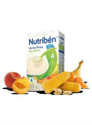 Nutriben Farinhas Fruta Lactea S/Glut 300 G