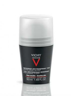 Vichy Homme Deo Roll On Extr 72h 50ml