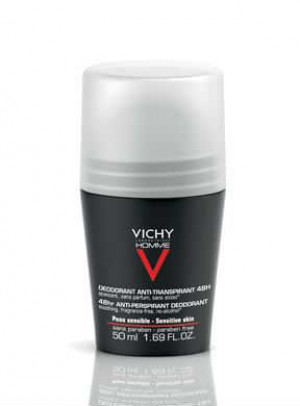 Vichy Homme Deo Roll On Ps 48h 50ml