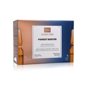 Martiderm Pigment Zero Pigment Booster DSP-Bright Monodoses 15 x 2 ml + Night Renew Monodoses 15 x 2 ml com Oferta de Essentials Esfoliante facial 15 ml + Hidro Mask 15 ml