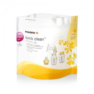 Medela Quick Clea Saco Esteril Microond X 5