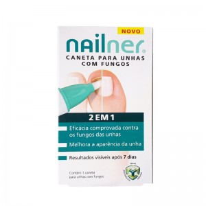 Nailner 2em1 Caneta Fungos 4ml
