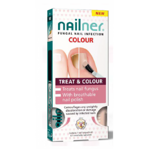 Nailner Verniz C/Cor Pincel Fung 5mlx2
