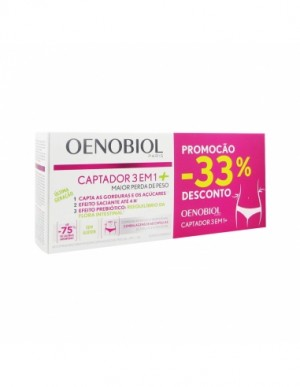 Oenobiol Captador 3Em1+ Caps X60X2