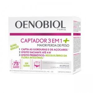 Oenobiol Captador 3em1+ Caps X60
