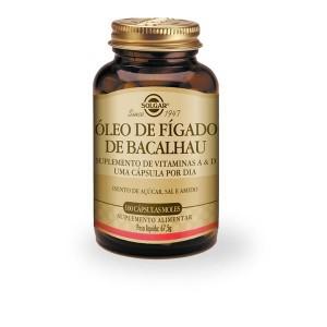 Oleo Figado Bacalh Solgar Caps X 100