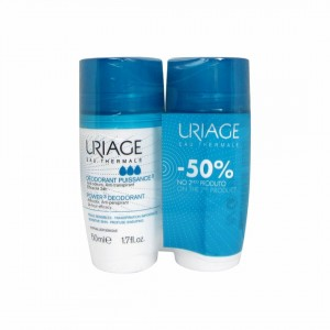 Uriage Puissance3 Roll On 50mlx2+Desc 50%