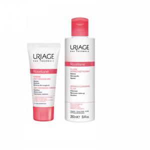 Uriage Roseliane Cr 40ml+Of Fl Limp 250ml